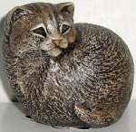 Collectible Windstone Kitten, Puffin