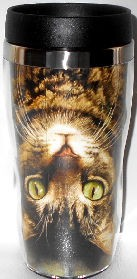 Cat Travel Mug, Cat Perspective