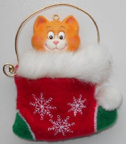 Collectible Cat Ornament, & Gift Card Holder
