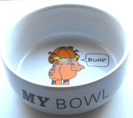 Collectible Garfield Dish, My Bowl