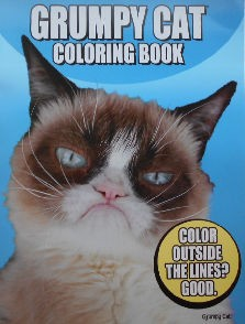 Collectible Grumpy Cat Coloring Book