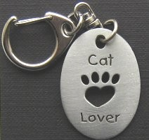Cat Key Ring, Cat Lover