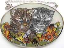 Cat Sun Catcher, Two's Company