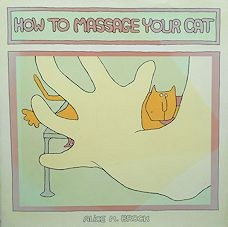 Collectible Cat Book, How To Massage Your Cat