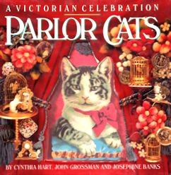 Collectible Cat Book, Parlor Cats
