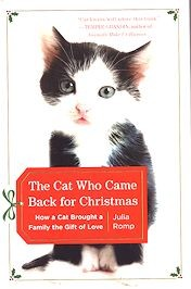 Collectible Christmas Cat Book, The Cat Who Came Back For Christmas