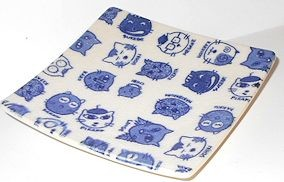 Collectible Cat Sushi Plate